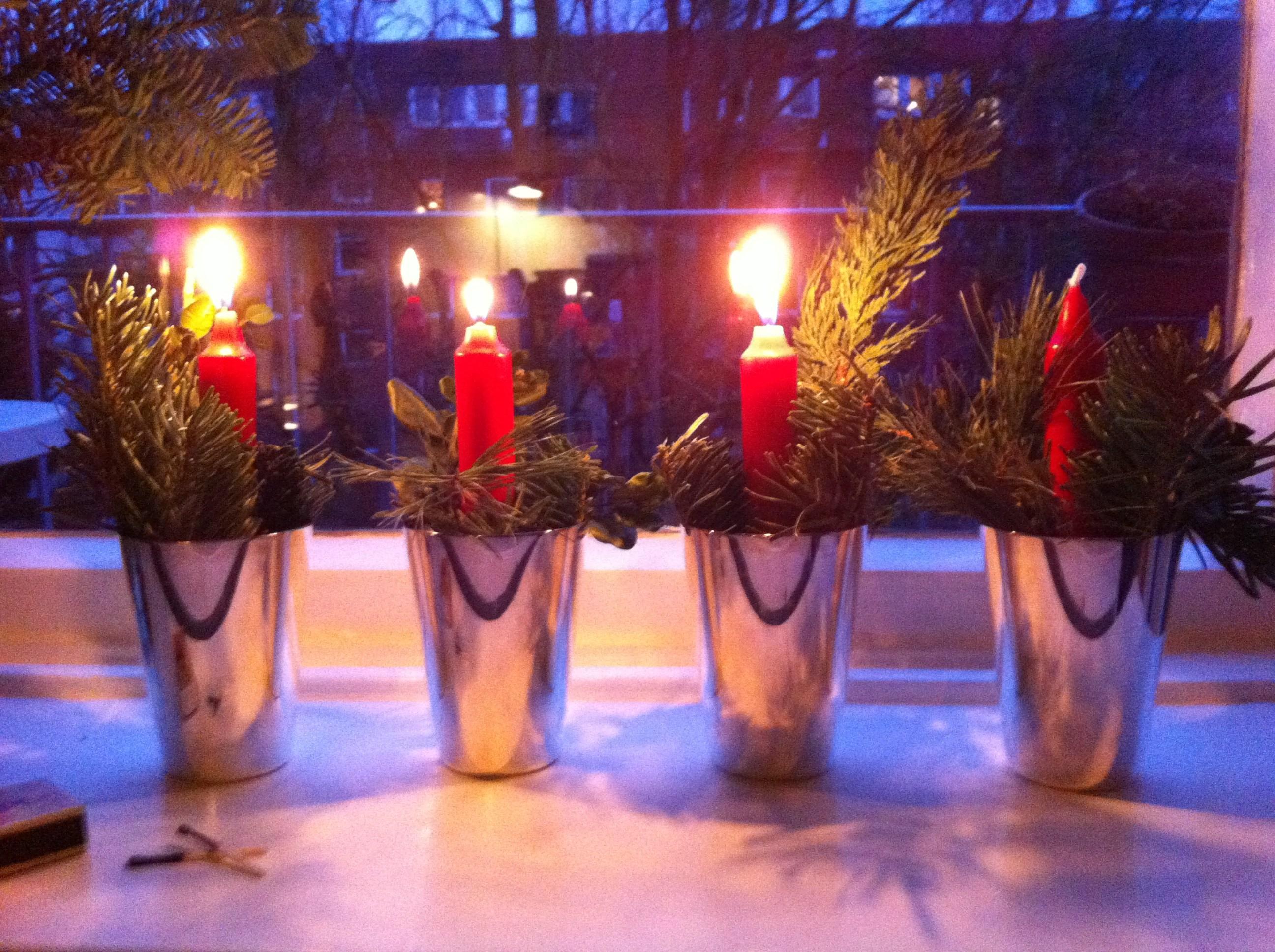 Mathilde mag die Vorfreude und den 3. Advent