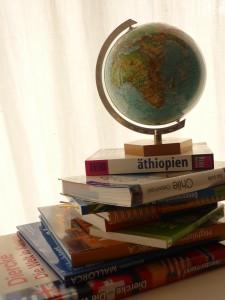 Mathilde mag ihre Reisebücher