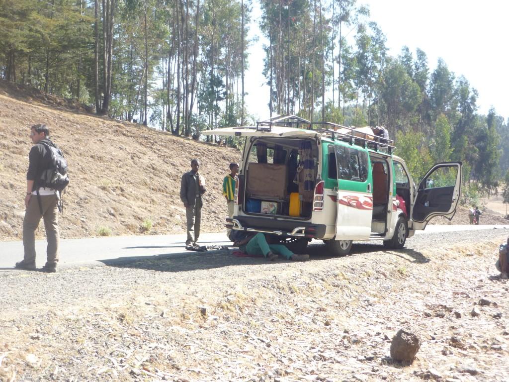 Minibus zwischen Gondar und Gashena – Mathilde Magazin