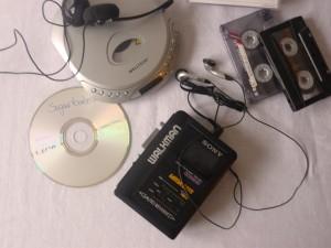 Mathilde mag ihren alten Kasettenrekorder immer noch