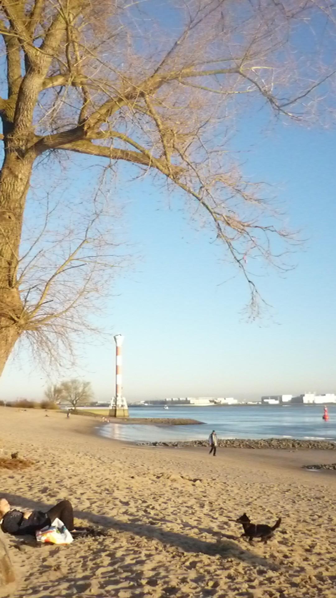 Blick von Blankenese nach Finkenwerder –Mathilde Magazin
