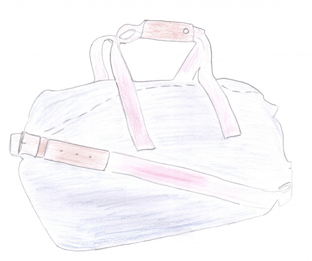 Mathilde mag ihre Reisetasche