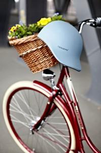 Mathilde mag die blaube Radkappe