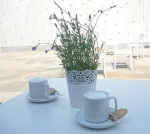 Unser Cappuccino hatte es hübsch –Mathilde Magazin