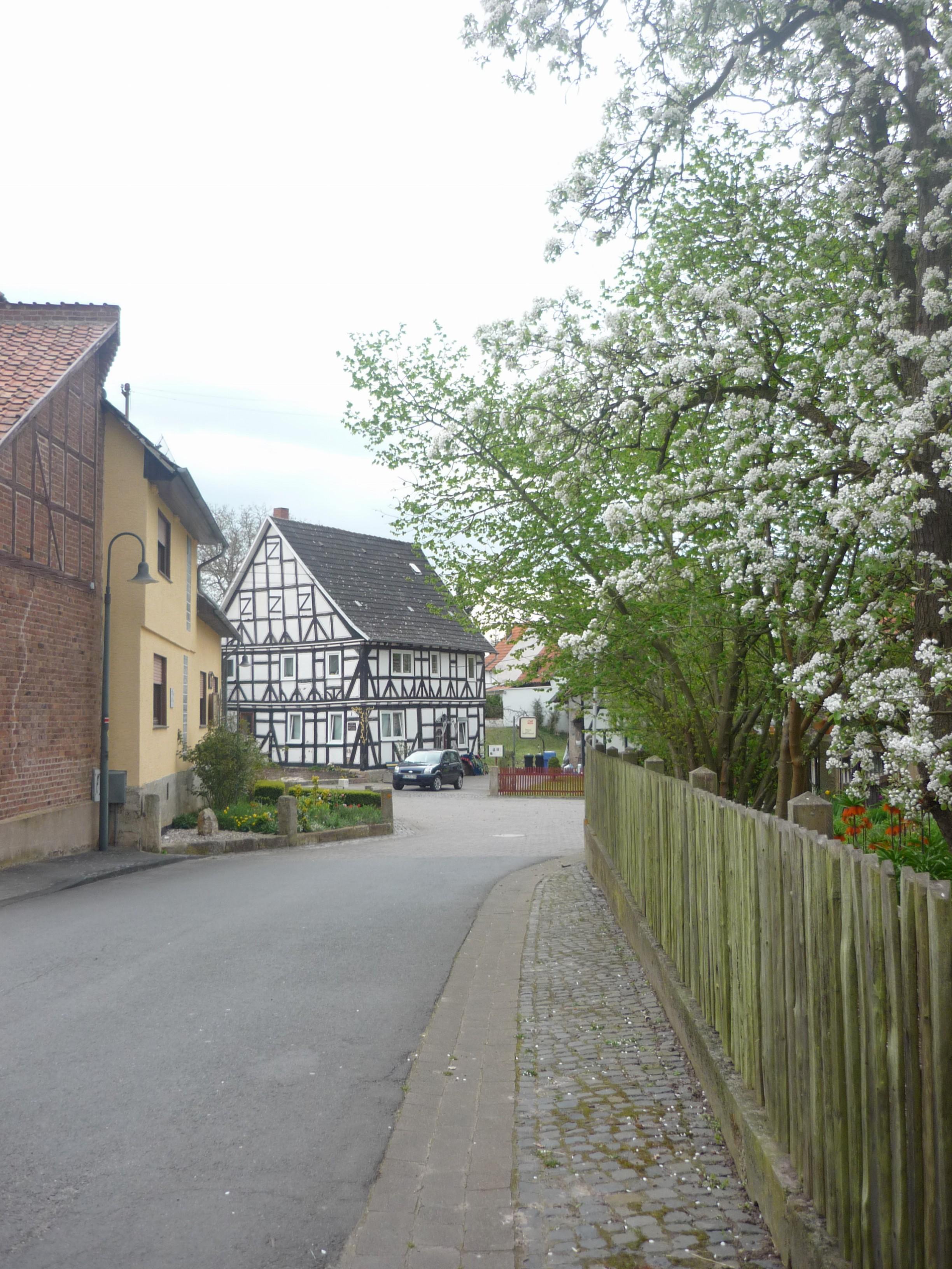 Dorfstraße in Heldra