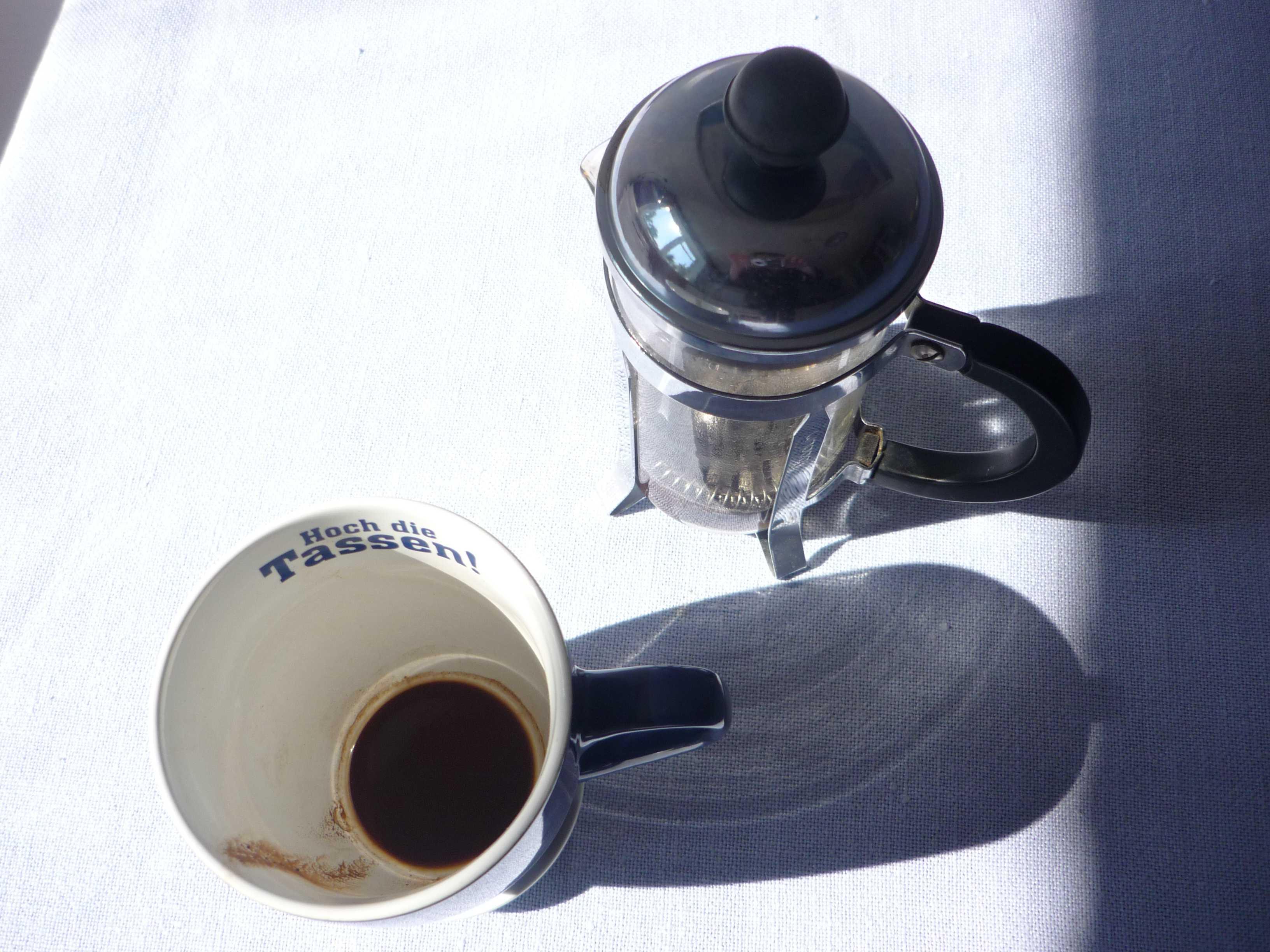 Morgen Kaffee.