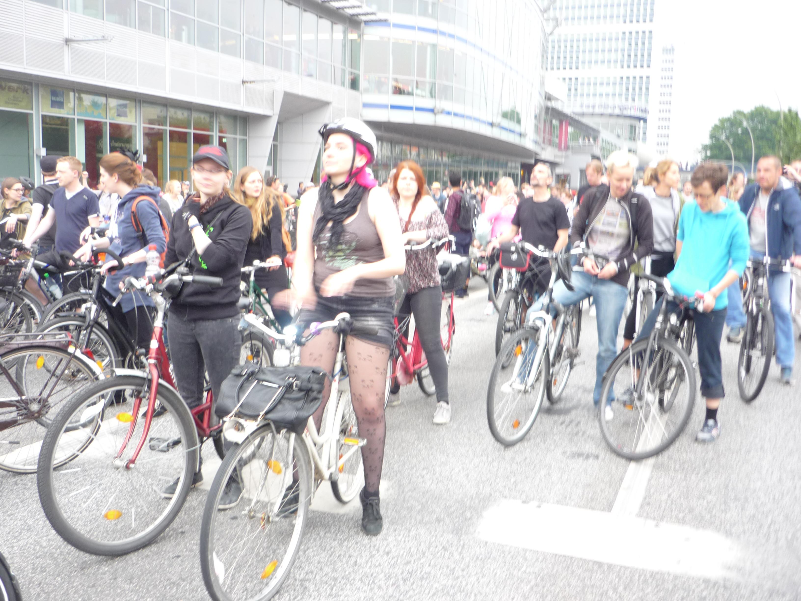 Gestaltungswillen bei Radfahrern und Rädern2