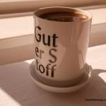 Guter Stoff - Mathilde mag ihren Kaffee