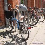 Fahrradhelm mit Blinker