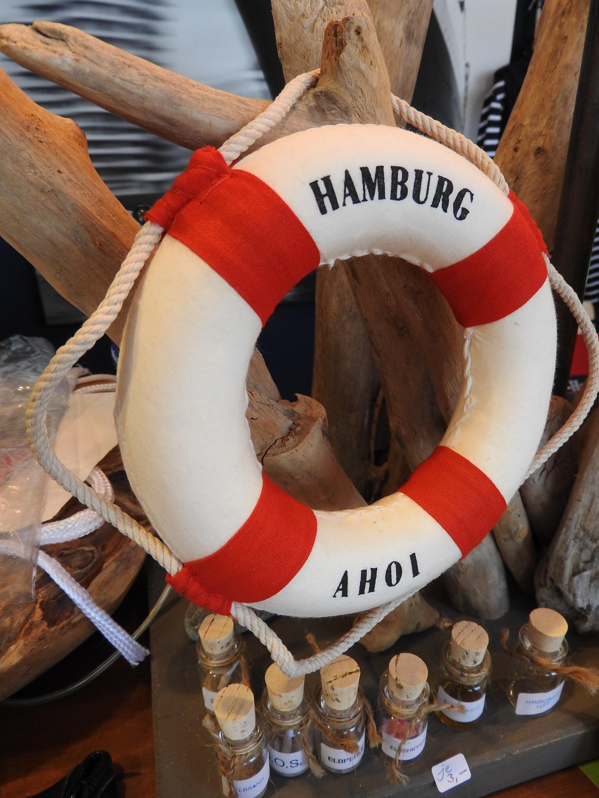 Rettungsring - Heimat Hafen Hamburg