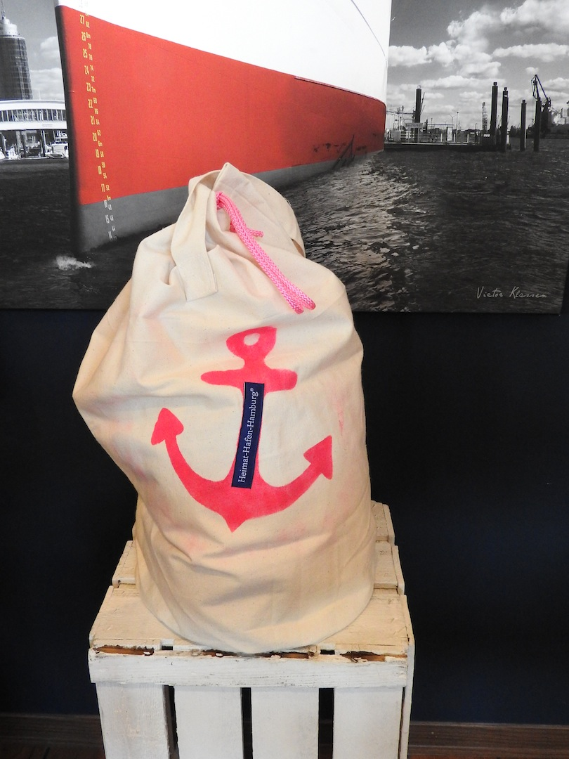 Segel-Tasche aus Hamburg
