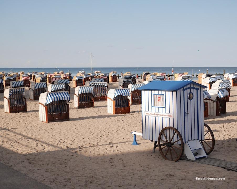 Strandkörbe in Travemünde - Mathilde MAG