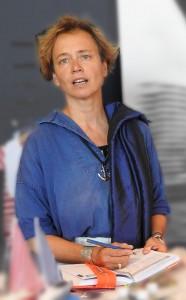 Susanne Häusler im Heimat Hafen Hamburg
