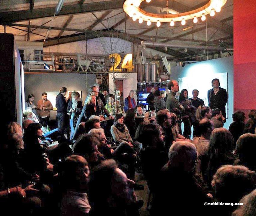 Publikum in der Halle 424 - Mathilde Magazin