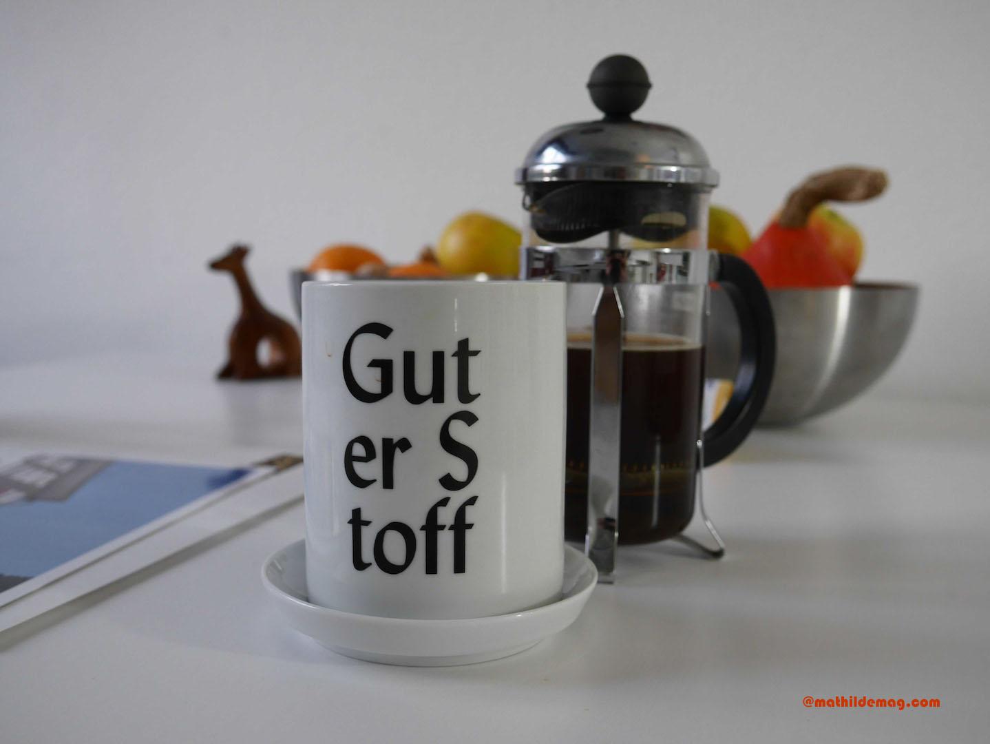 Erster Kaffee am Morgen