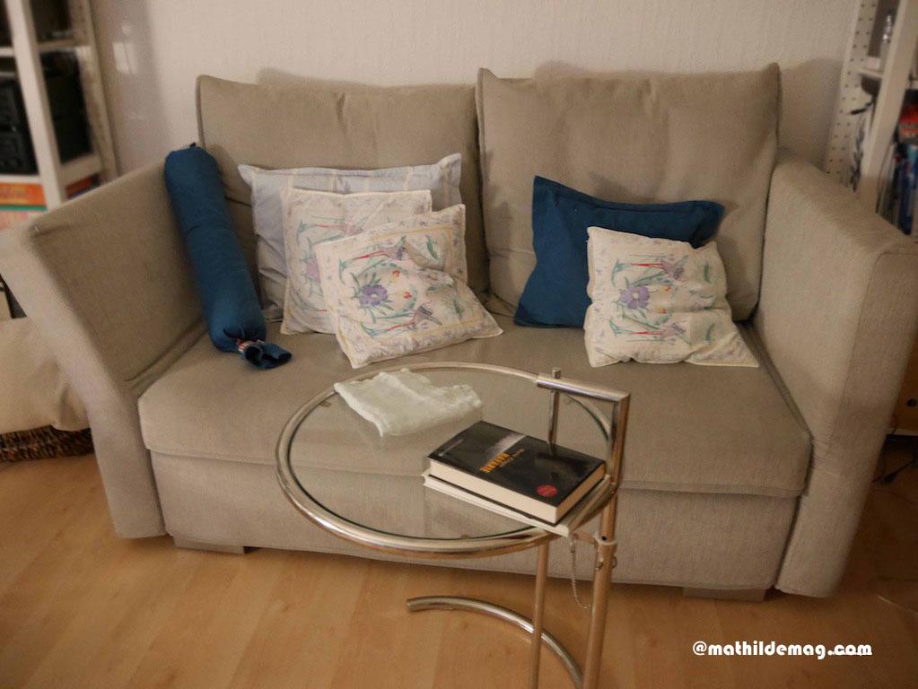 Sofa bewohnen