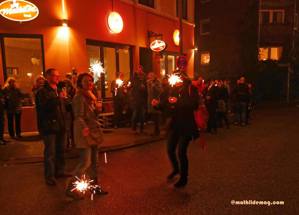 Silvester in der Mathilde Bar