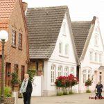 Schmucke Häuser im Ostsee Städtchen KappelnBild: U. Mathilde Ammermann