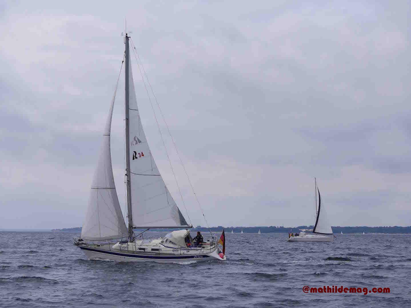 Segelyachten auf der Ostsee – Mathilde MAG