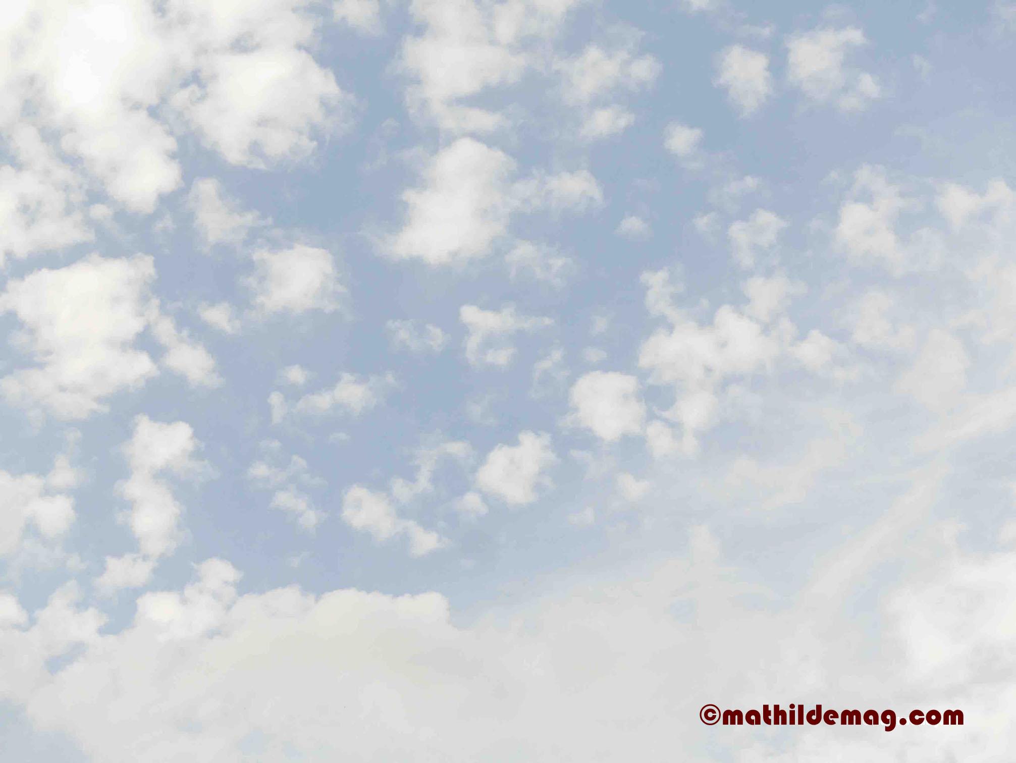 7 Mathilde mag den Himmel
