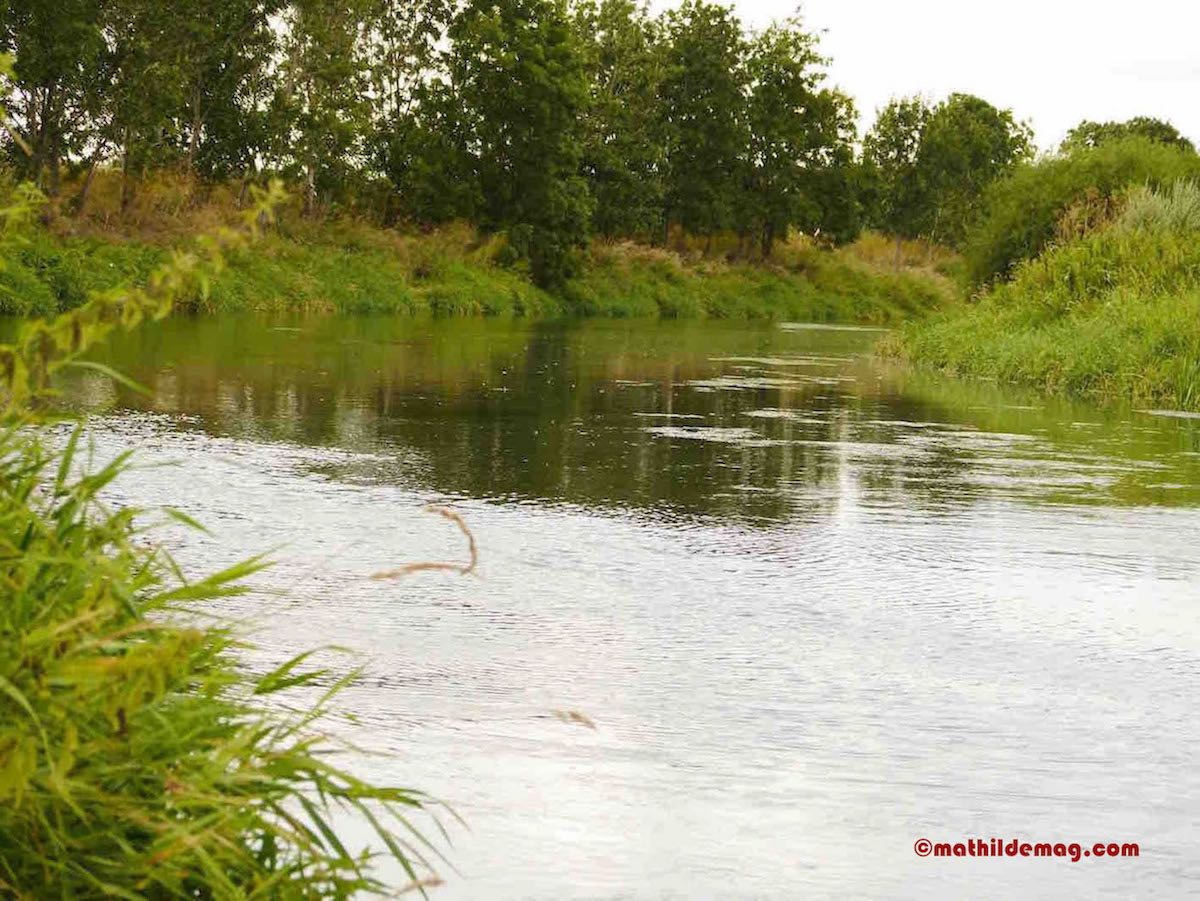 Mathilde mag den Fluss
