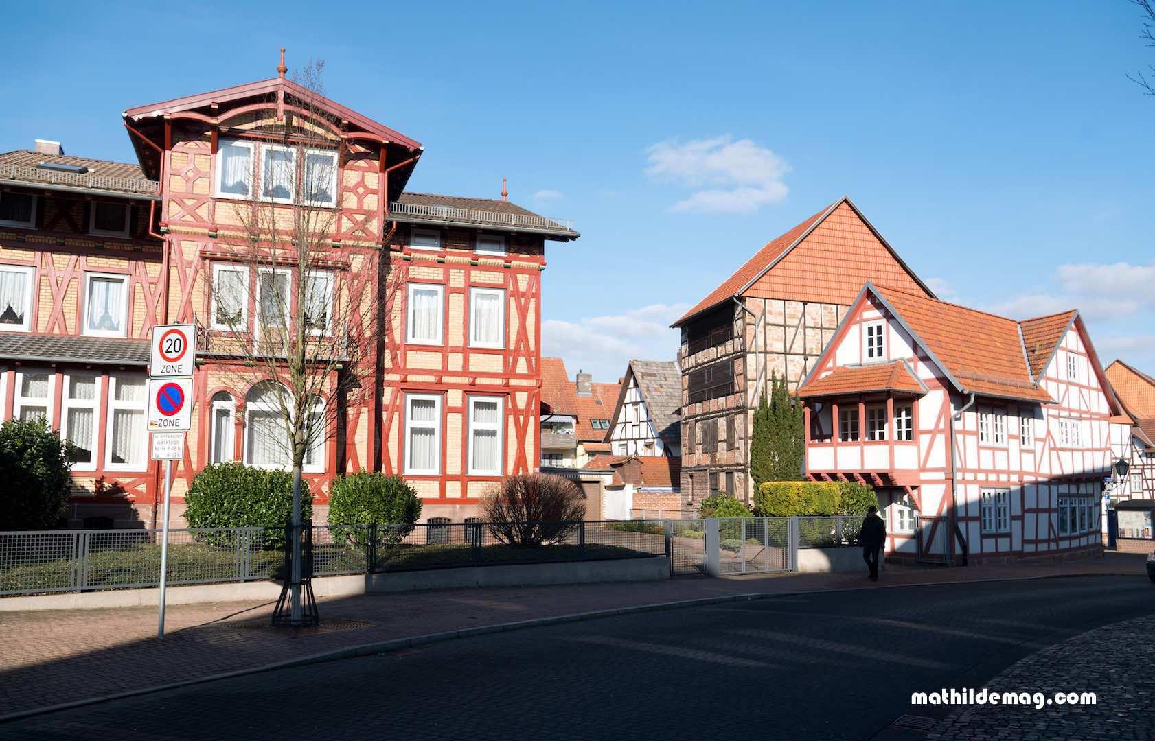 In der Mitte von Deutschland